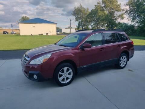 2014 Subaru Outback for sale at Carmart Auto Sales Inc in Schoolcraft MI