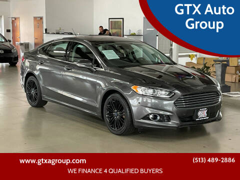 2016 Ford Fusion for sale at GTX Auto Group in West Chester OH
