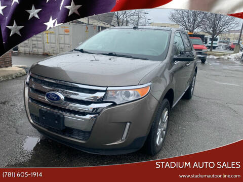 2014 Ford Edge for sale at Stadium Auto Sales in Everett MA