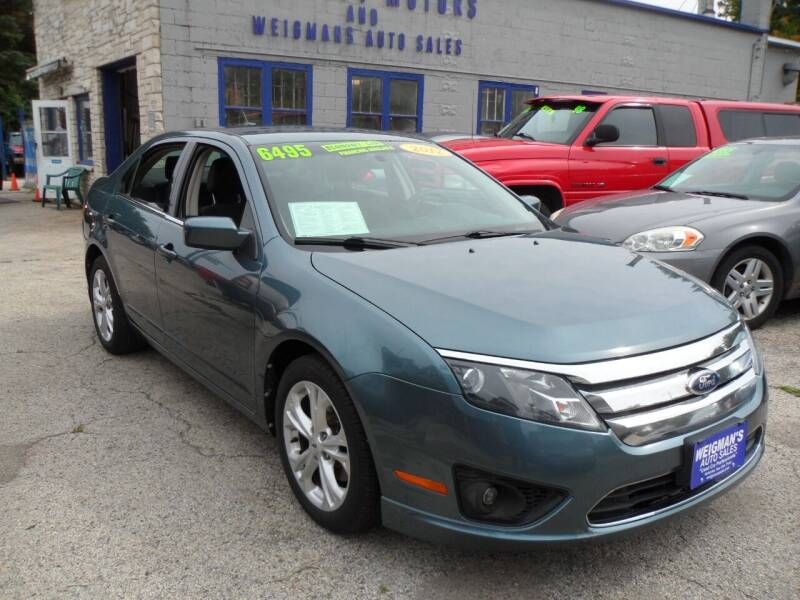 2012 Ford Fusion for sale at Weigman's Auto Sales in Milwaukee WI