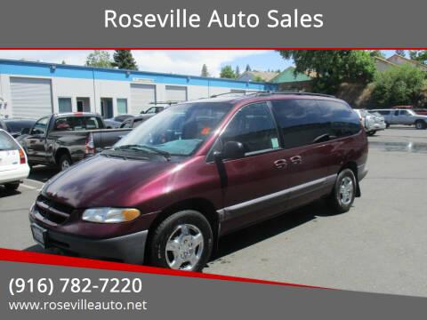2000 Dodge Grand Caravan for sale at Roseville Auto Sales in Roseville CA