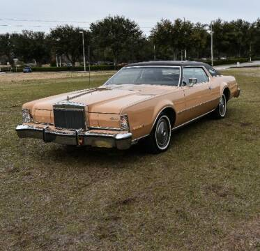 1974 Lincoln Continental for sale at Classic Car Deals in Cadillac MI