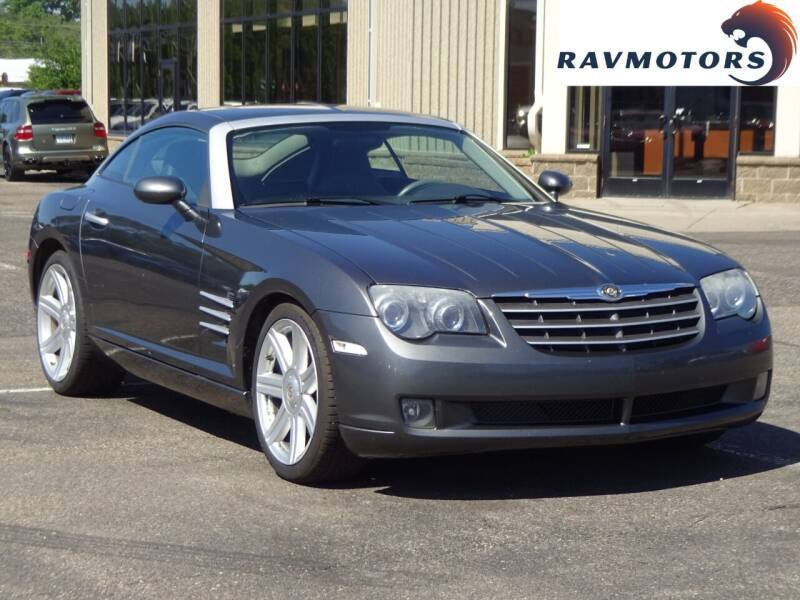 2004 Chrysler Crossfire for sale at RAVMOTORS 2 in Crystal MN