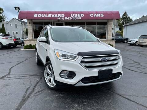 2019 Ford Escape for sale at Boulevard Used Cars in Grand Haven MI