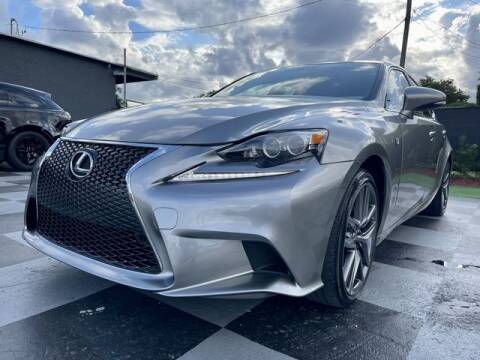 2015 Lexus IS 250 for sale at Imperial Capital Cars Inc in Miramar FL