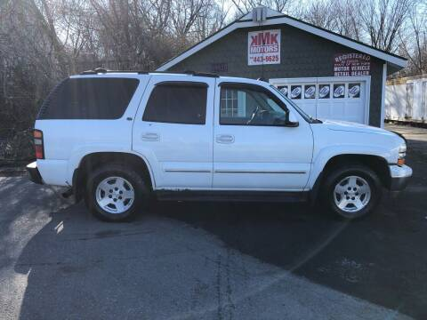 2004 Chevrolet Tahoe for sale at KMK Motors in Latham NY