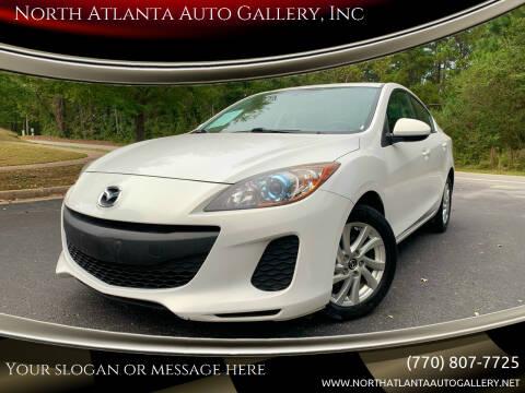 2013 Mazda MAZDA3 for sale at North Atlanta Auto Gallery, Inc in Alpharetta GA