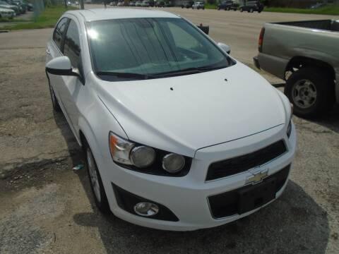 2012 Chevrolet Sonic for sale at SCOTT HARRISON MOTOR CO in Houston TX
