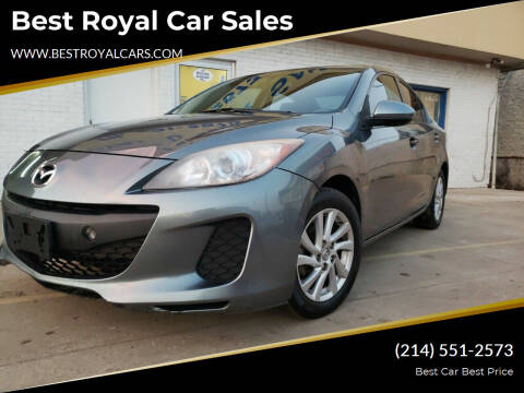 2012 Mazda MAZDA3 for sale at Best Royal Car Sales in Dallas TX