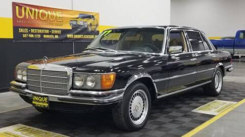1977 Mercedes-Benz 450-Class for sale at UNIQUE SPECIALTY & CLASSICS in Mankato MN