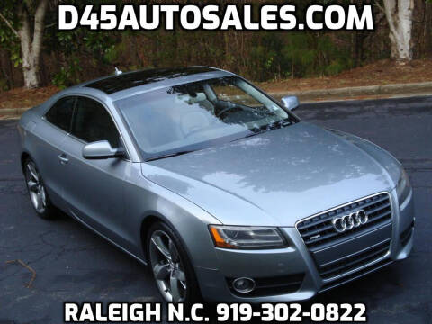 2011 Audi A5 for sale at D45 Auto Brokers in Raleigh NC