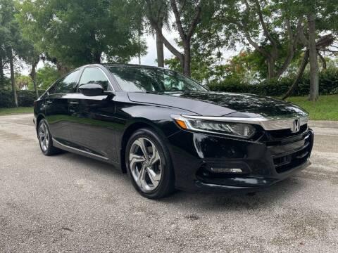 2018 Honda Accord for sale at DELRAY AUTO MALL in Delray Beach FL