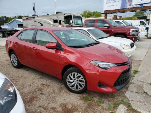 2019 Toyota Corolla for sale at GOOD NEWS AUTO SALES in Fargo ND