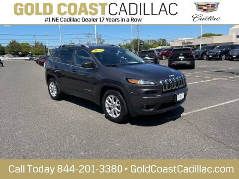 2017 Jeep Cherokee for sale at Gold Coast Cadillac in Oakhurst NJ