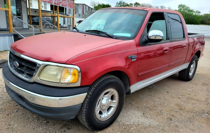 2001 Ford F-150 for sale at Jackson Motors Used Cars in San Antonio TX