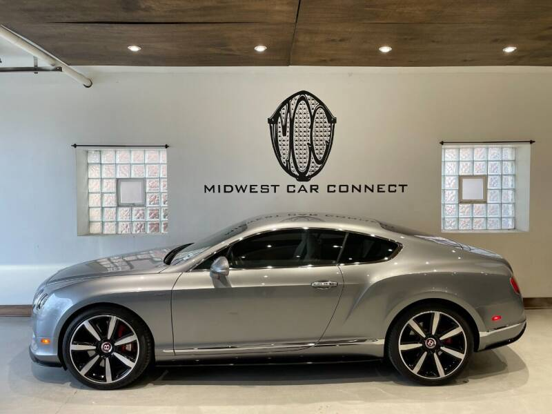 2015 Bentley Continental for sale at Midwest Car Connect in Villa Park IL