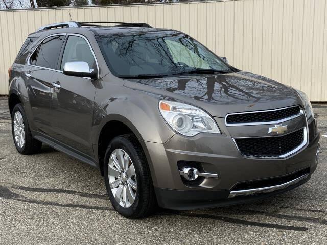 2011 Chevrolet Equinox for sale at Miller Auto Sales in Saint Louis MI