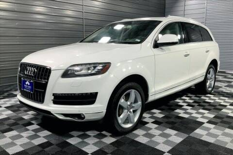 2014 Audi Q7 for sale at TRUST AUTO in Sykesville MD