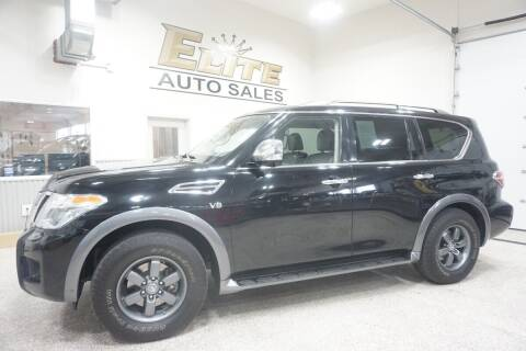 2019 Nissan Armada for sale at Elite Auto Sales in Ammon ID