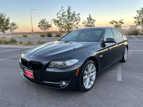 2012 BMW 5 Series for sale at The Auto Center in Las Vegas NV