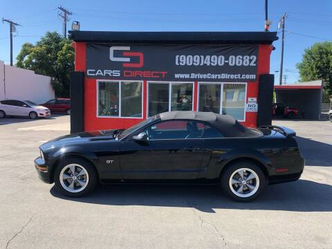 2006 Ford Mustang for sale at Cars Direct in Ontario CA