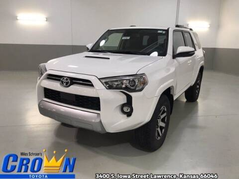 2021 Toyota 4Runner for sale at Crown Automotive of Lawrence Kansas in Lawrence KS