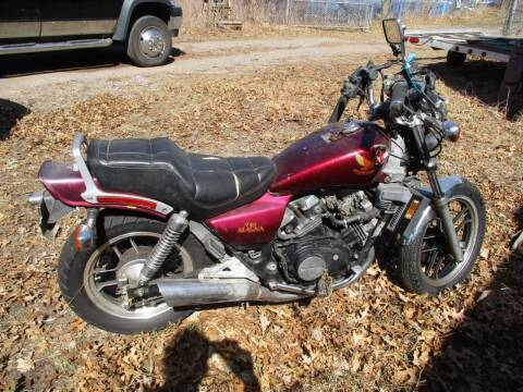 1985 Honda Magna for sale at D & T AUTO INC in Columbus MN
