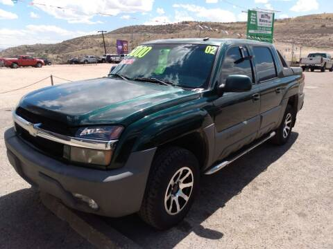 2002 Chevrolet Avalanche for sale at Hilltop Motors in Globe AZ
