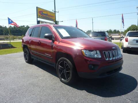2012 Jeep Compass for sale at Roswell Auto Imports in Austell GA