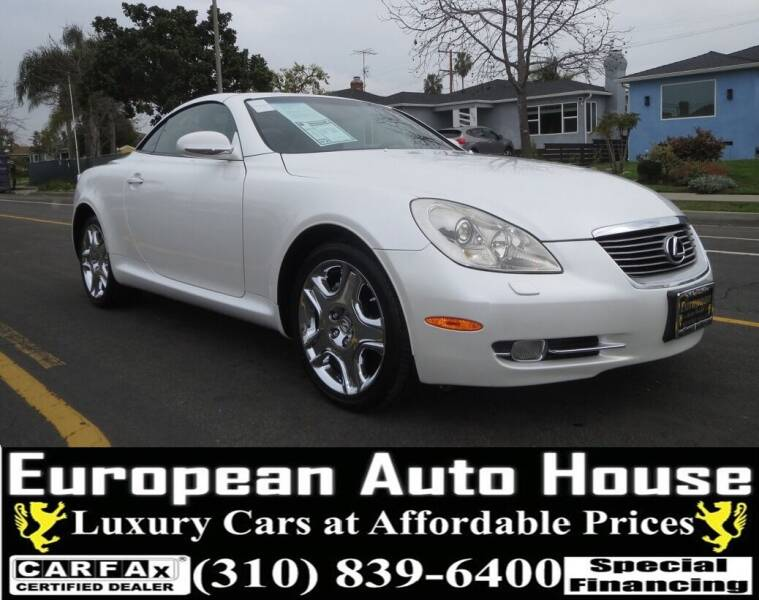 2008 Lexus SC 430 for sale at European Auto House in Los Angeles CA