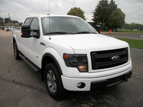 2014 Ford F-150 for sale at USED CAR FACTORY in Janesville WI