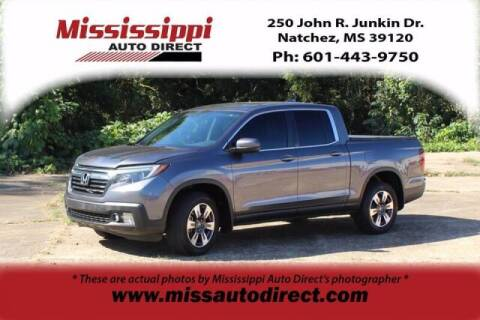 2017 Honda Ridgeline for sale at Auto Group South - Mississippi Auto Direct in Natchez MS