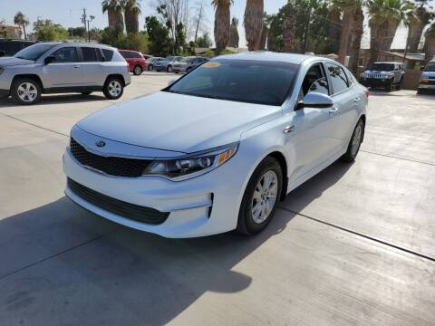 2016 Kia Optima for sale at A AND A AUTO SALES in Gadsden AZ