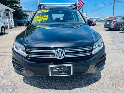 2013 Volkswagen Tiguan for sale at Cape Cod Cars & Trucks in Hyannis MA