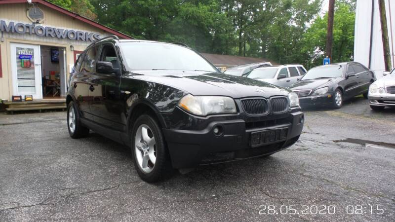 2005 BMW X3 for sale at E-Motorworks in Roswell GA