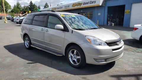 2004 Toyota Sienna for sale at Good Guys Used Cars Llc in East Olympia WA