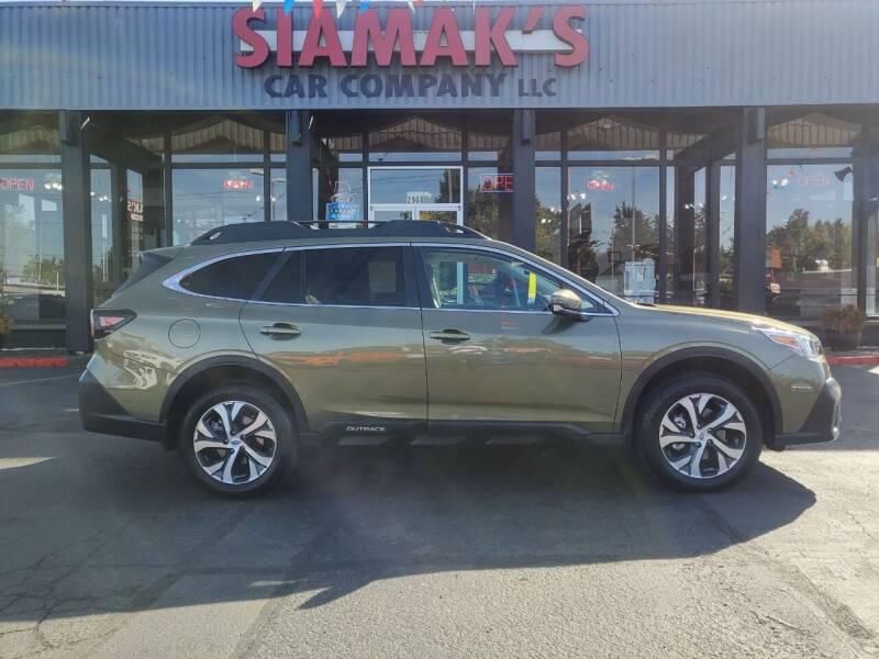 2021 Subaru Outback for sale at Siamak's Car Company llc in Salem OR