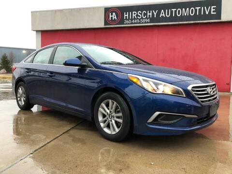 2016 Hyundai Sonata for sale at Hirschy Automotive in Fort Wayne IN