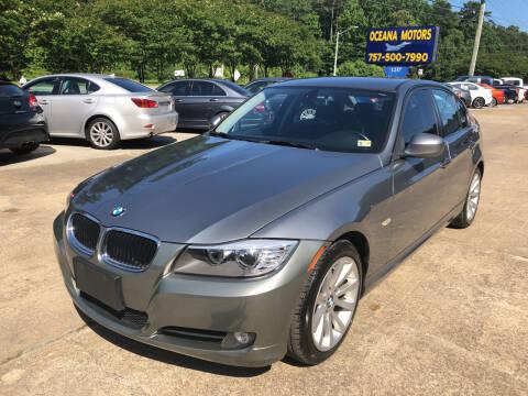 2011 BMW 3 Series for sale at Oceana Motors in Virginia Beach VA