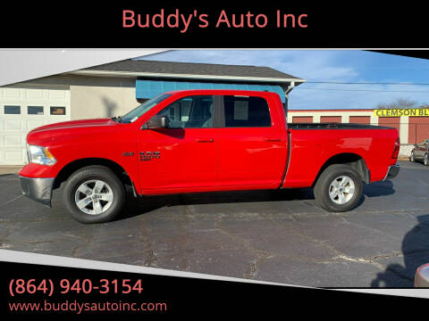 2019 RAM Ram Pickup 1500 Classic for sale at Buddy's Auto Inc in Pendleton, SC
