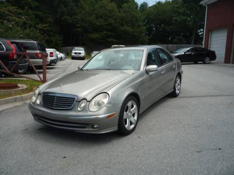 2006 Mercedes-Benz E-Class for sale at Credit Cars LLC in Lawrenceville GA