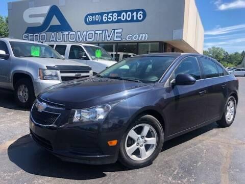 2014 Chevrolet Cruze for sale at Sedo Automotive in Davison MI