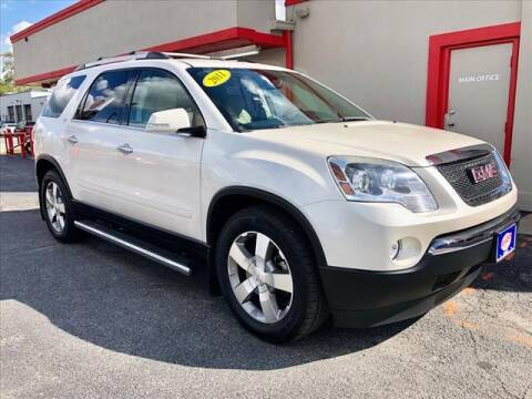 2011 GMC Acadia for sale at Richardson Sales & Service in Highland IN