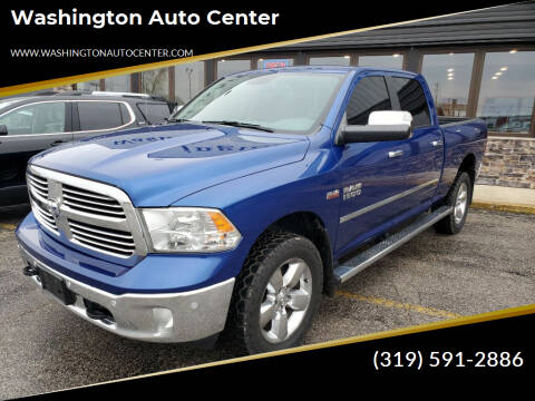 2017 RAM Ram Pickup 1500 for sale at Washington Auto Center in Washington IA