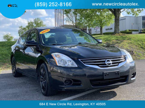 2012 Nissan Altima for sale at New Circle Auto Sales LLC in Lexington KY