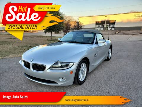 2005 BMW Z4 for sale at Image Auto Sales in Dallas TX