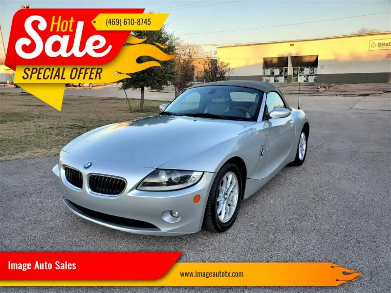 2005 BMW Z4 for sale at Image Auto Sales in Dallas TX