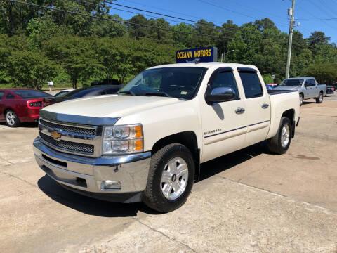 2012 Chevrolet Silverado 1500 for sale at Oceana Motors in Virginia Beach VA