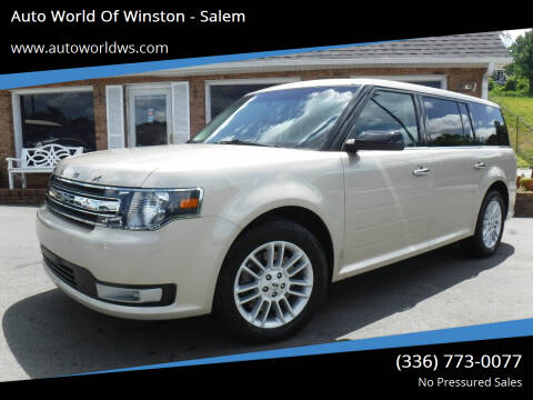 2017 Ford Flex for sale at Auto World Of Winston - Salem in Winston Salem NC
