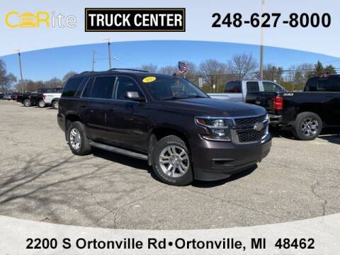 2015 Chevrolet Tahoe for sale at Carite Truck Center in Ortonville MI